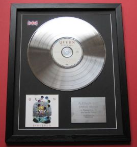 QUEEN - Innuendo CD / PLATINUM LP DISC
